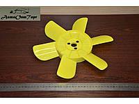 Крыльчатка вентилятора (радиатора)  ВАЗ 2101, 2102, 2103, 2104, 2105, 2106, 2107, 6 лопастей желтая  Херсон