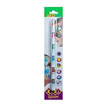 Аквагрим, краски (карандаши) для лица (6 цветов - металлик), ZB.6572