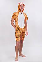 """Веселая пижама кигуруми для взрослого """"Тигр"""" - размеры: M, L"""