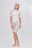"""Анимешная пижама кигуруми для взрослого """"Тоторо"""" - размеры: S, M, L"""