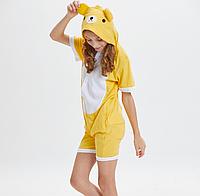 """Детская милая пижама кигуруми """"Мишка"""" - размеры: 100 см"""