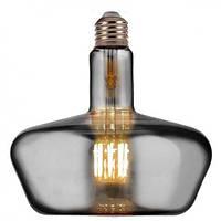 Светодиодная лампа Filament led Ginza 8W E27 2400К Титан Horoz Electric