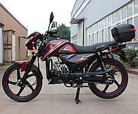 Мотоцикл SPARK SP125С-2C (красный,черный,синий,белый,серый,бордо) +Доставка бесплатно, фото 1