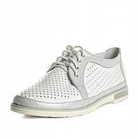 Туфлі Villomi vm-am-07bel 36 Білі/Срібні
