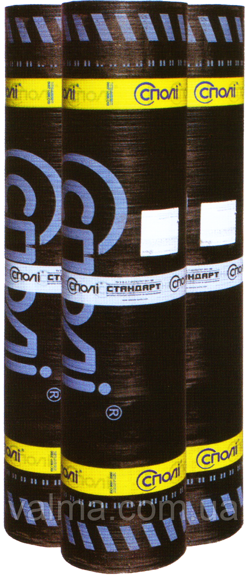 СПОЛИ Стандарт ДО (ЕКП) 4,0 сланець сірий, верхній шар 10м.кв.