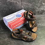 Мужские сандалии Antec (коричневые) , фото 2