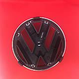 Эмблема логотип Volkswagen Фольксваген  VW Golf 5  Polo 02-09, Caddy 04-09, на решетку радиатора 1T0853601A, фото 2