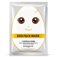Маска для лица яичная BIOAQUA Small Eggs Tender and Smooth Water Facial Mask (30г)