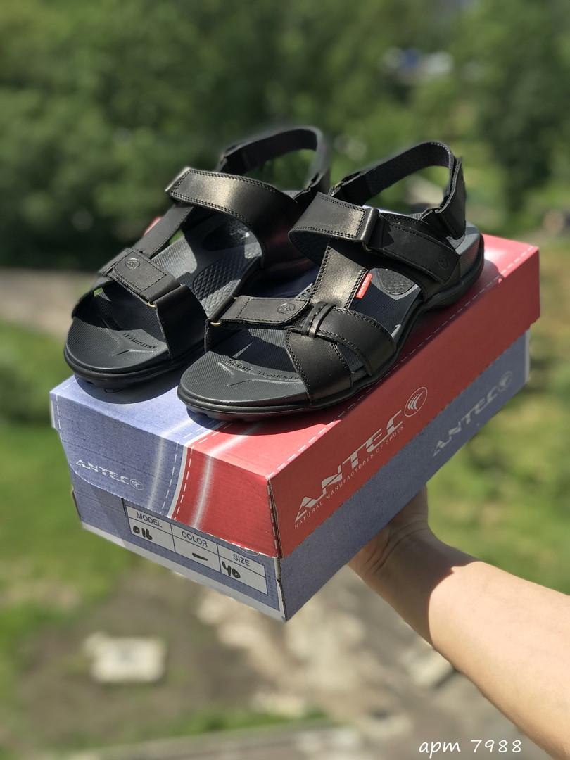 Мужские сандалии Antec (черные)