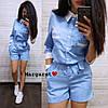 Комбінезон, тканина: костюмка габардин . Розмір:С,М. Різні кольори (6641), фото 2