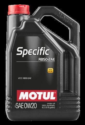 867451/SPECIFIC RBS0-2AE SAE 0W20 (5L)/106045