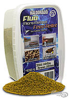 Пеллет HALDORÁDÓ Fluo Micro Method Feed Pellet 1.5мм - Green Africa (Зеленая Африка) 0.4кг