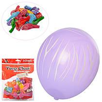 Набір надувних кульок (50 шт.), мікс кольорів, 12 см, MK 2579