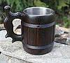 Пивной бокал из дерева 0,5 л