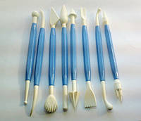 Инструменты для мастики ( набор 8 шт)
