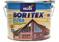 Антисептик для древесины Helios Bori Tex TopLasur 10л (тик)