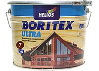 Антисептик для древесины Helios Bori Tex TopLasur 10л (махагон)