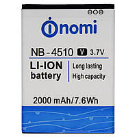 Аккумулятор для Nomi NB-4510 2000mAh