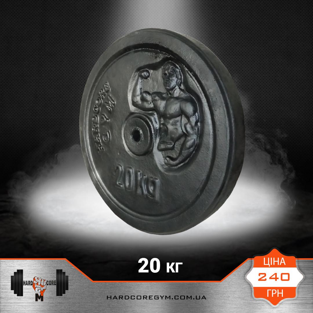 Блін 20 кг (27 мм)