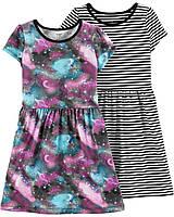 Набор из двух качественных платьев Картерс для девочки (поштучно)