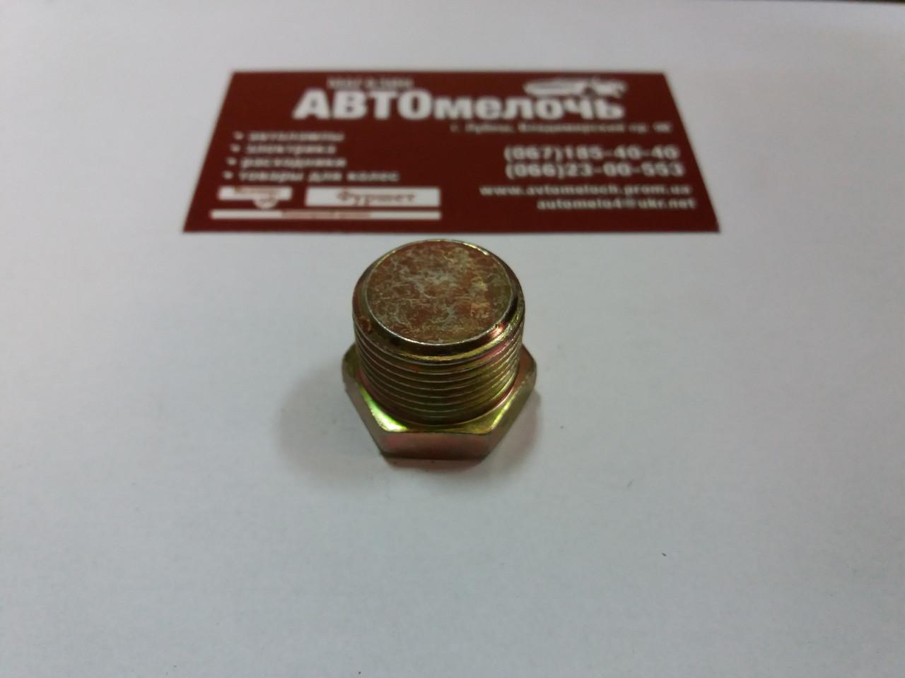 Заглушка резьбовая М22х1.5 под ключ 24