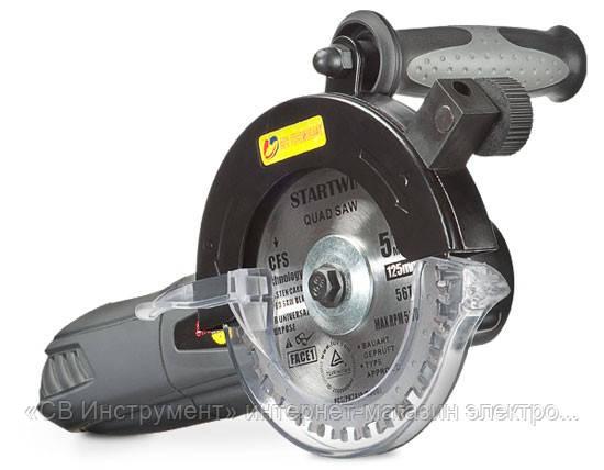 Уникальная пила STARTWIN с диаметром дисков 115 мм