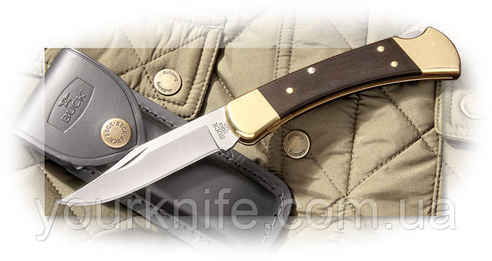 Нож складной Buck 110 Folding Hunter Ebony