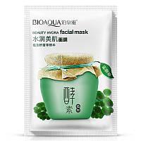 Маска для лица регенерирующая и увлажняющая с центеллой азиатской BIOAQUA Beauty Hydra Facial Mask (30г)