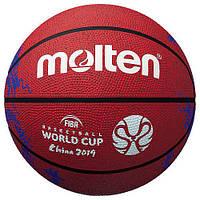 Баскетбольний мяч Molten FIBA World Cup China 2019 (красный/синий)