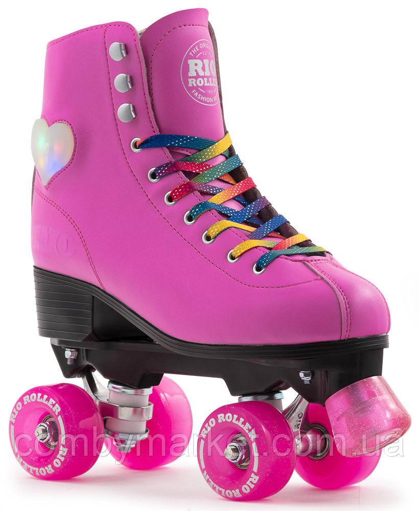 Роликовые коньки женские Rio Roller Figure Lights