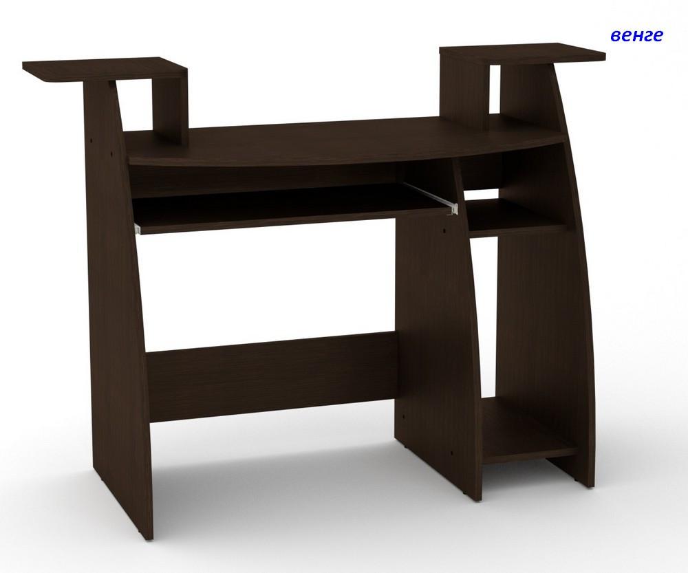 Компьютерный стол с полками СКМ - 4