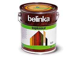 Цветная лазурь Belinka Toplasur 2,5л Белый №11