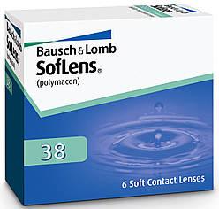 Линзы на 3 месяца BAUSCH&LOMB SOFLENS 38