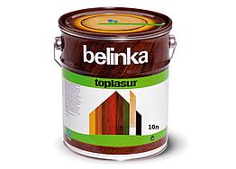 Цветная лазурь Belinka Toplasur 10л Белый №11