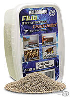 Пеллет HALDORÁDÓ Fluo Micro Method Feed Pellet 1.5мм - Devil Buster (Чеснок+Миндаль) 0.4кг