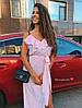 Гарне плаття бретелі регулюються на поясі резиночка + пояс, тканина: софт. Розмір:С,М. Різні кольори (6652), фото 6