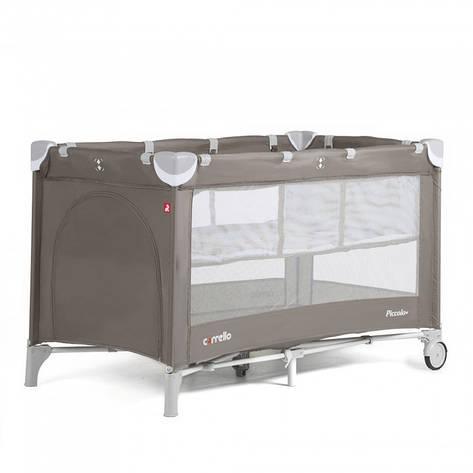 Манеж-кровать CARRELLO Piccolo+ CRL-9201 Chocolate Brown, фото 2