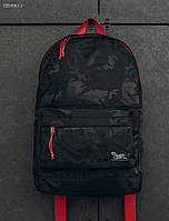 Рюкзак Staff 27L black camouflage and red