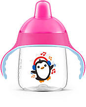 Чашка-поильник Avent, 260 мл, розовый «Philips Avent» (SCF753/07)