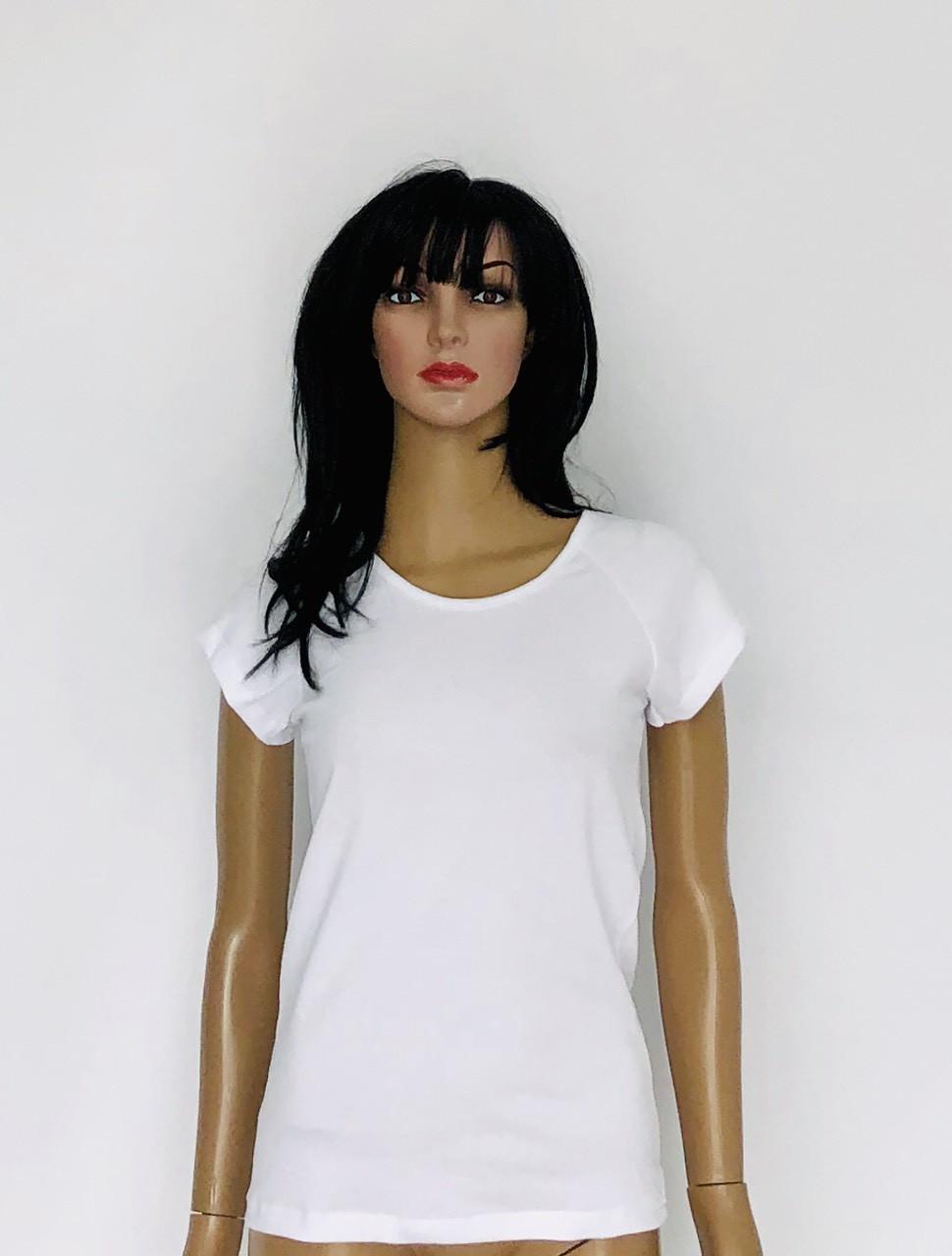 Летняя футболка белая