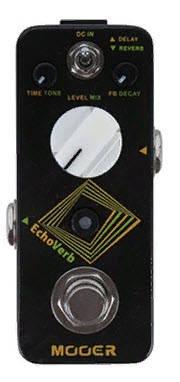 Підлоговий цифровий педаль ефектів для електрогітар Ділей Ревербератор MOOER ECHOVERB, фото 2