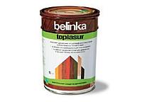 Цветная лазурь Belinka Toplasur 1л (орех)