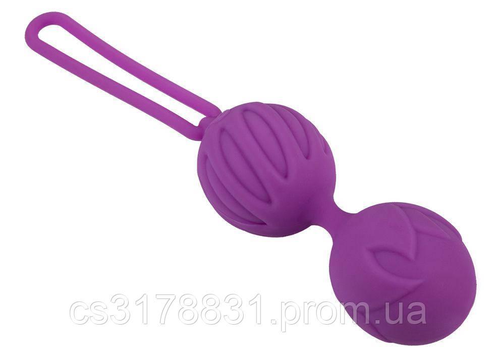 Вагинальные шарики Adrien Lastic Geisha Lastic Balls BIG Violet (L)