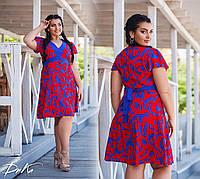 Женское модное платье  ДГд1275 (бат), фото 1