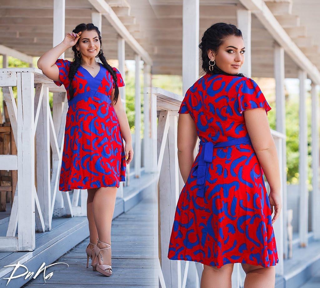 Женское модное платье  ДГд1275 (бат)