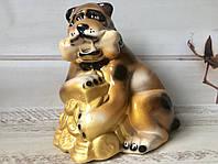 Копилка собака с монетами , фото 1