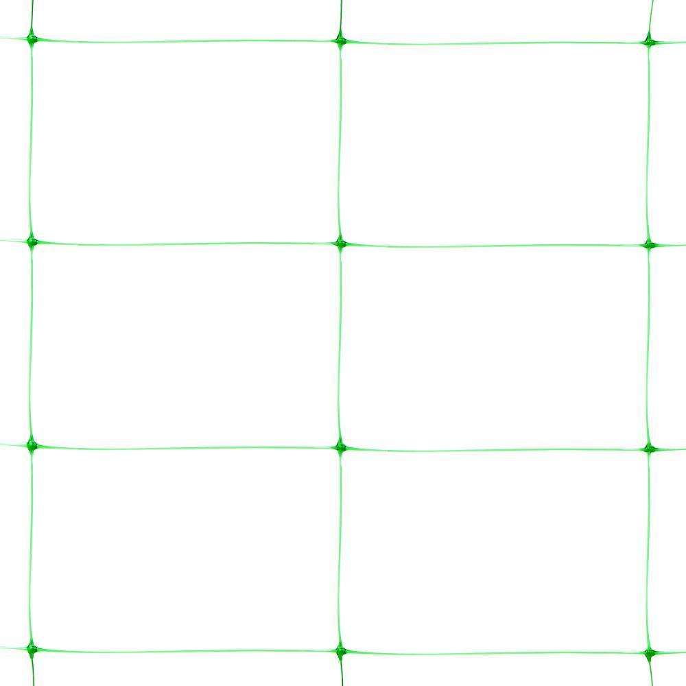 Сетка пластиковая шпалерная зеленая Клевер 1,7х500 м (130х180 мм)