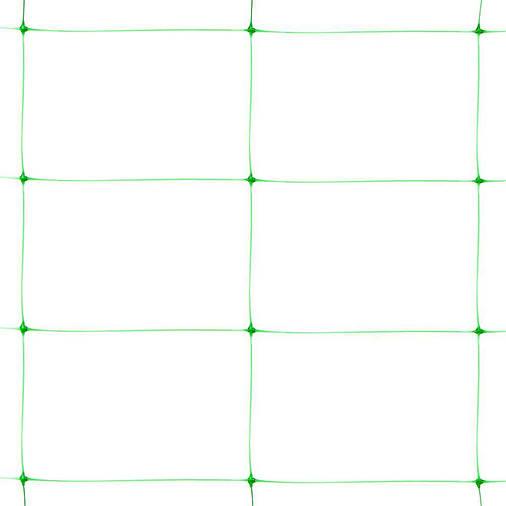 Сетка пластиковая шпалерная зеленая Клевер 1,7х500 м (130х180 мм), фото 2
