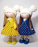 Ляльки-сестрички текстильні, фото 2