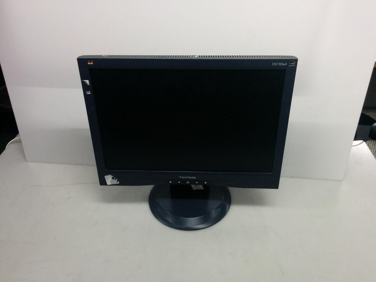 """Монитор 17"""" ViewSonic VA1703wb на запчасти"""